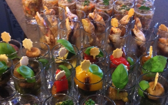 Full Service - Soul of Food Catering München, Fingerfood im Glas