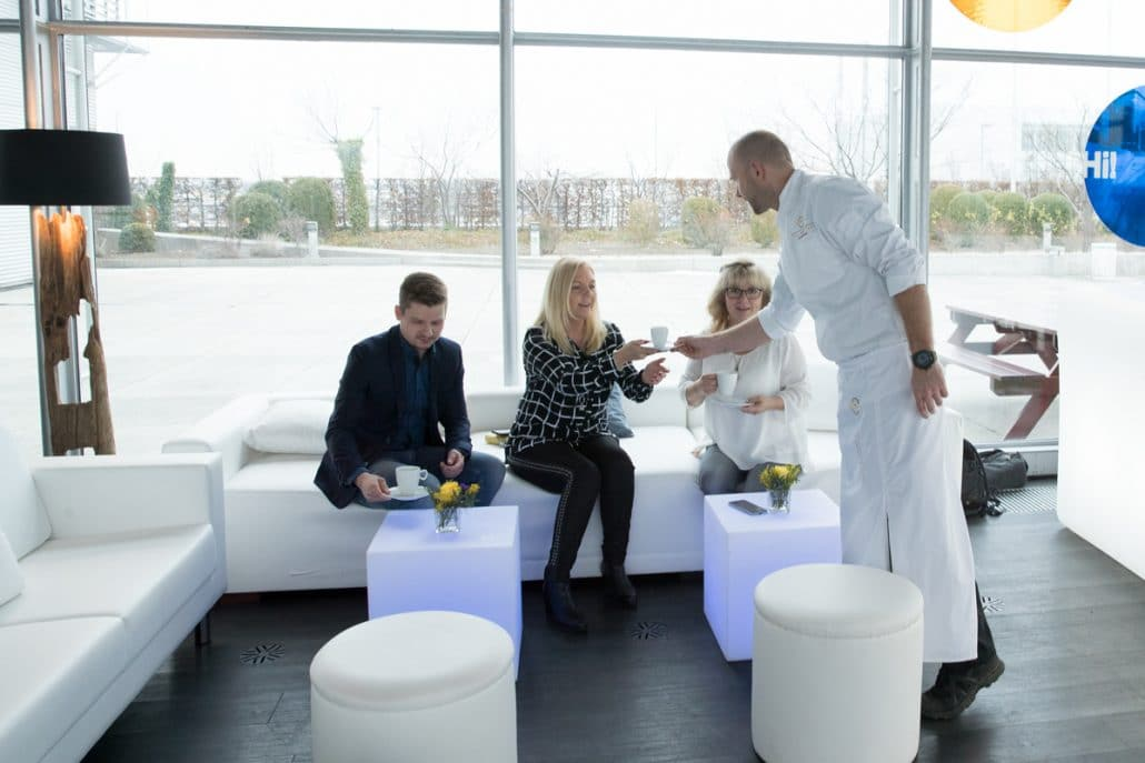 Referenzen - Catering München - Flying Buffet bei Lufthansa