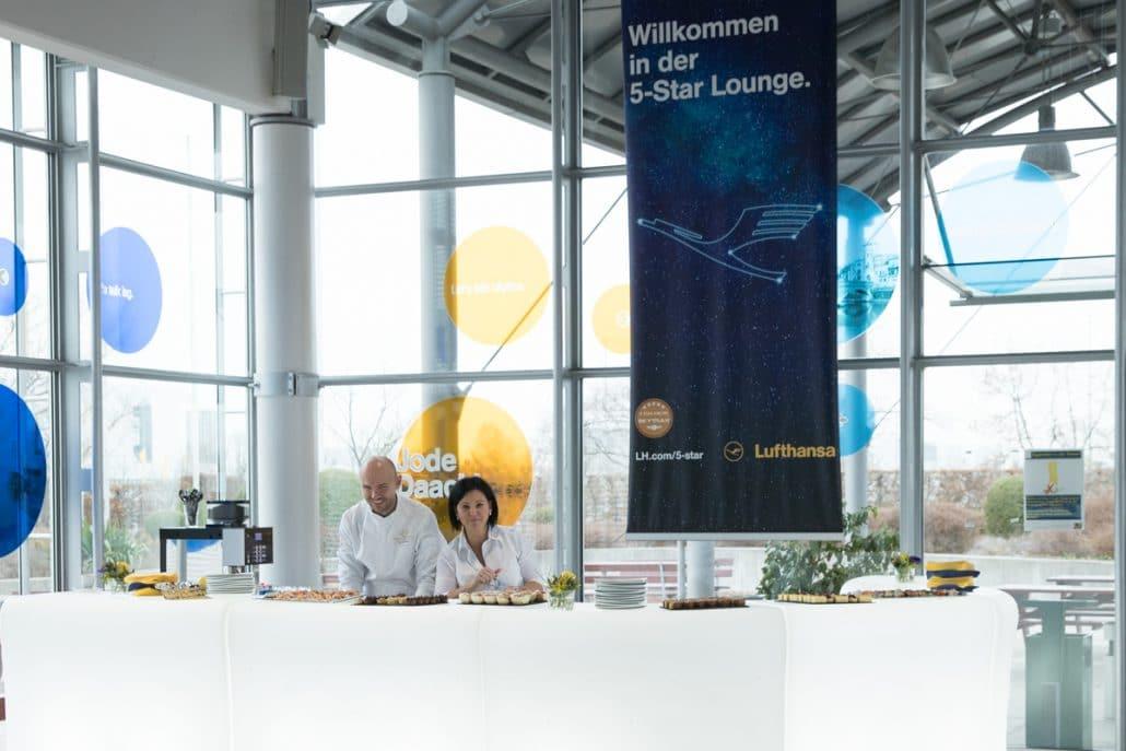 Referenzen Catering - Full-Service - Lufthansa